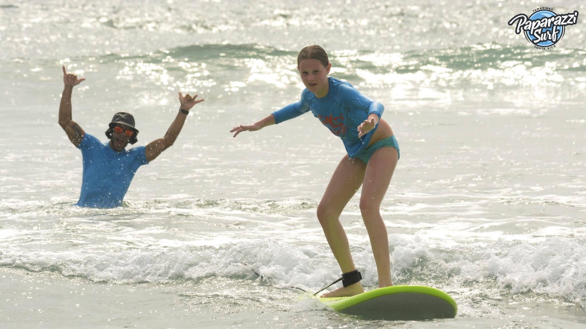 Salty Sols, clases de surf en Costa Rica.