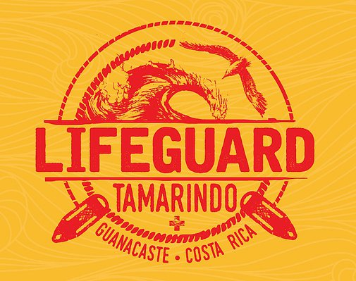 The Logo For the Tamarindo Lifeguard Program