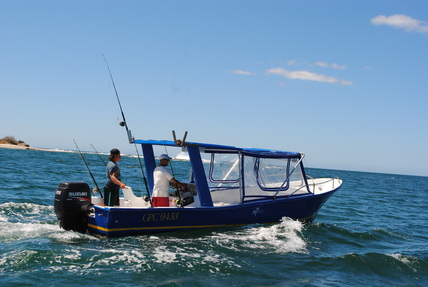 blue fishing tours