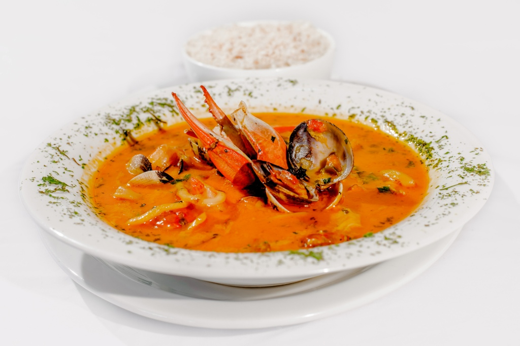 Try one of these unforgettable seafood soups at the Crazy Monkey Bar and Restaurant.